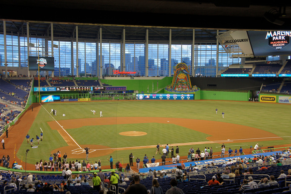 Alese Morton Pechter Pechter Photo Marlins Park The